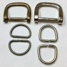 Снимка на метални полухалки